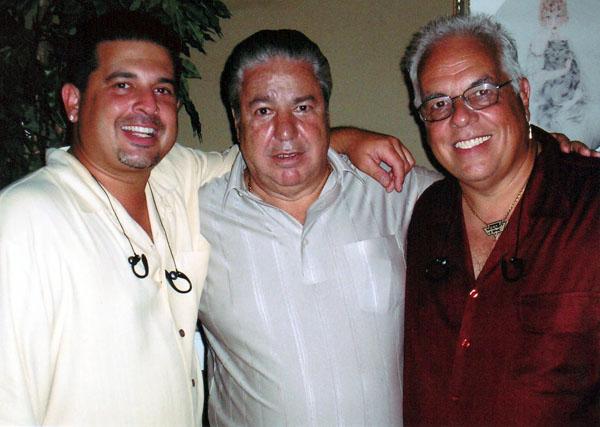 Clem Caserta with Spanky & Dino