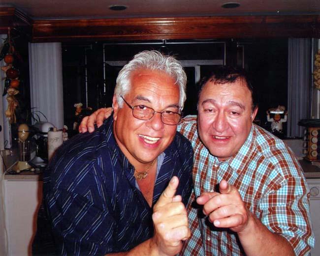 Dom Irrera with Spanky